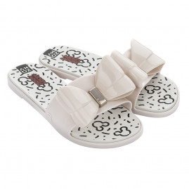 Chinelo Feminino Zaxy Joy Mickey II Slide - 18156 - 33 ao 40 – Atacado - Off White