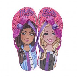 Chinelo Infantil Ipanema Barbie Loop - 26541 - 23 ao 32 - Atacado - Rosa/Lilás
