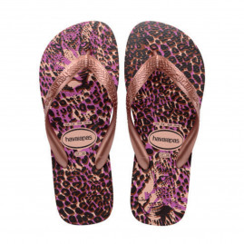 Chinelo Feminino Havaianas Top Animals - Atacado - Rosa Ballet