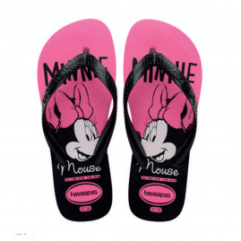 Chinelo Havaianas Top Disney - 39 ao 43 - Atacado - Rosa Flux