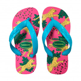 Chinelo Havaianas Juvenil Kids Top Fashion - 29 ao 36 - Atacado - Rosa Flux