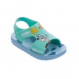 Sandália Ipanema Dream Baby Best Friend - 22286 - 17 ao 27 - Atacado - Azul/Verde