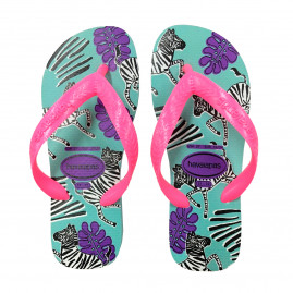 Chinelo Havaianas Juvenil Kids Top Fashion - 29 ao 36 - Atacado - Azul Céu