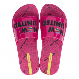 Chinelo Feminino Ipanema Now United - 26730 - 33 ao 38 - Atacado - Rosa/Preto